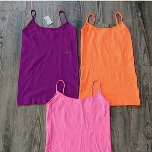 Lot of 3 Maurices Camisole Tank Tops Sz S/M NWT